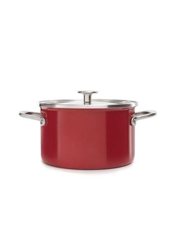 KitchenAid Artisan Tencere Kırmızı 20 Cm | 3,7 L Renkli